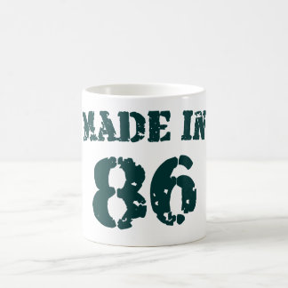Made In 1986 Coffee Mug