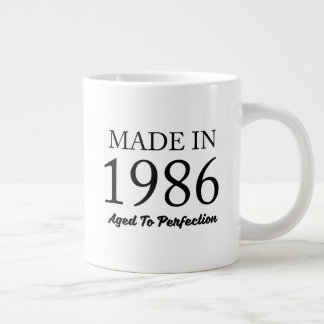 Made In 1986 Large Coffee Mug