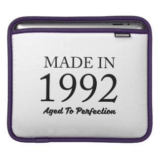 Made In 1992 iPad Sleeve