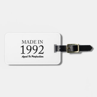 Made In 1992 Luggage Tag