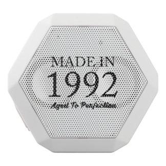 Made In 1992 White Bluetooth Speaker