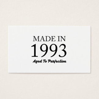 Made In 1993 Business Card