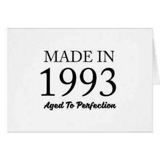 Made In 1993 Card