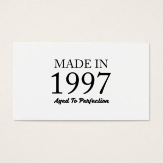 Made In 1997 Business Card