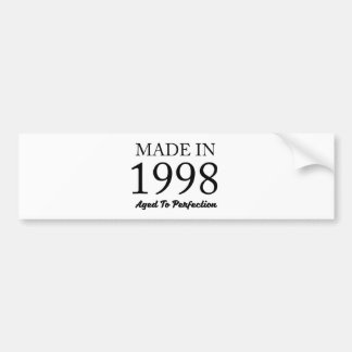 Made In 1998 Bumper Sticker