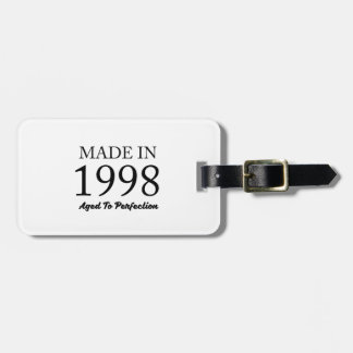 Made In 1998 Luggage Tag