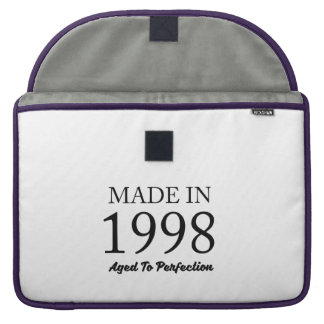 Made In 1998 Sleeve For MacBook Pro