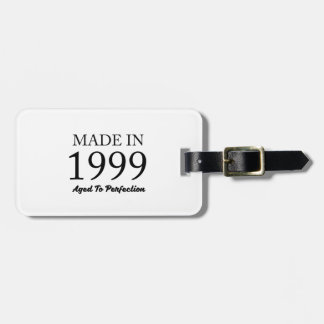 Made In 1999 Luggage Tag