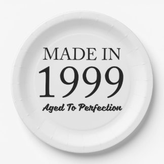 Made In 1999 Paper Plate