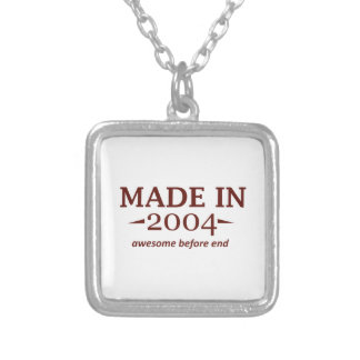 Made In 2004 Birthday Designs Pendants