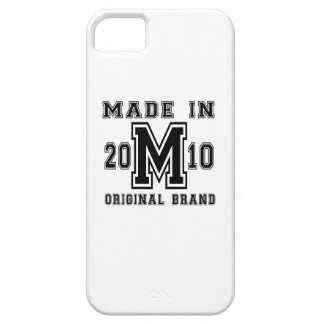 MADE IN 2010 ORIGINAL BRAND BIRTHDAY DESIGNS BARELY THERE iPhone 5 CASE