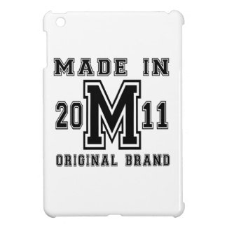 MADE IN 2011 ORIGINAL BRAND BIRTHDAY DESIGNS COVER FOR THE iPad MINI