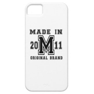 MADE IN 2011 ORIGINAL BRAND BIRTHDAY DESIGNS iPhone 5 CASES