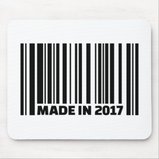 Made in 2017 mouse pad