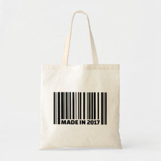 Made in 2017 tote bag