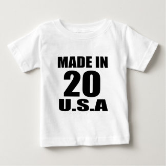 MADE IN 20 U.S.A BIRTHDAY DESIGNS BABY T-Shirt