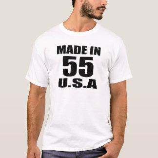 MADE IN 55 U.S.A BIRTHDAY DESIGNS T-Shirt