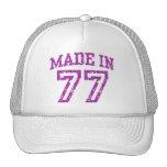 Made in 77 trucker hats