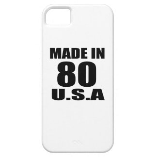 MADE IN 80 U.S.A BIRTHDAY DESIGNS CASE FOR THE iPhone 5