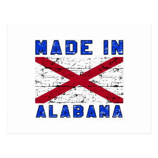 Made in Alabama Post Card