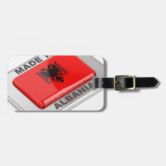 Made in Albania Luggage Tag