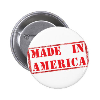 Made in America! Buttons