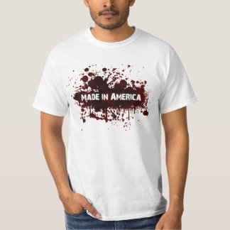 Made in America - Blood Stain T-Shirt