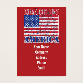 Made in America Business Card
