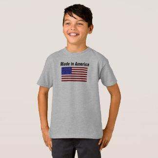 Made in America Flag Boys Shirt