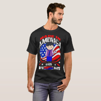 Made In America South Korean Parts Country Tshirt