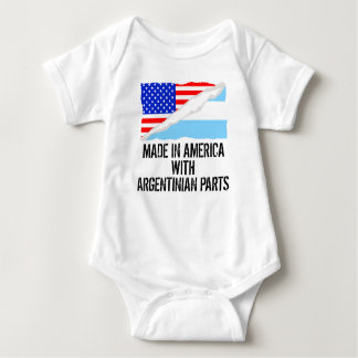 Made In America With Argentinian Parts Baby Bodysuit