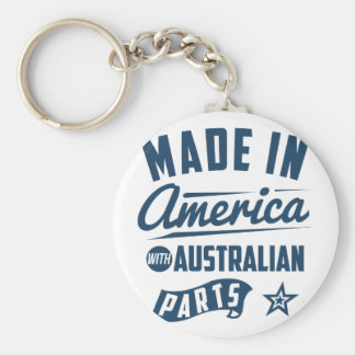 Made In America With Australian Parts Key Ring