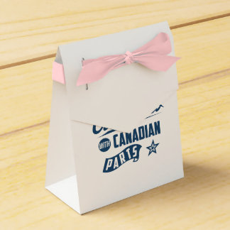 Made In America With Canadian Parts Favour Box