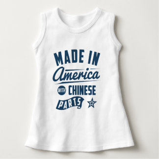 Made In America With Chinese Parts Dress