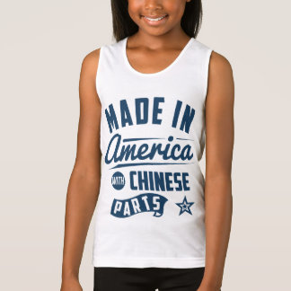 Made In America With Chinese Parts Singlet