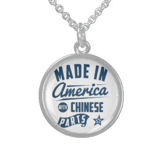 Made In America With Chinese Parts Sterling Silver Necklace