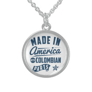 Made In America With Colombian Parts Sterling Silver Necklace