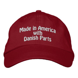 Made in America with Danish Parts Baseball Cap
