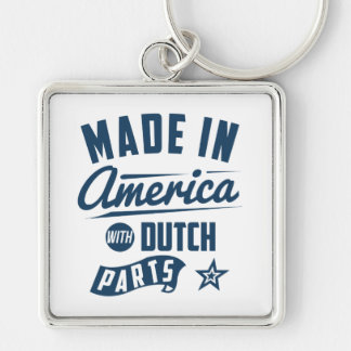 Made In America With Dutch Parts Key Ring