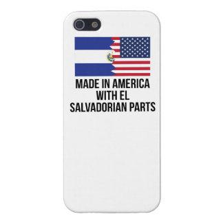 Made In America With El Salvadorian Parts iPhone 5 Case