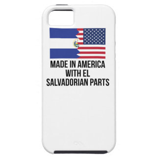 Made In America With El Salvadorian Parts iPhone 5 Cover