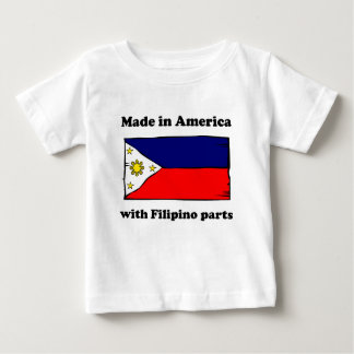 Made In America With Filipino Parts Baby T-Shirt