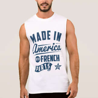 Made In America With French Parts Sleeveless Shirt