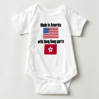 Made In America With Hong Kong Parts Baby Bodysuit