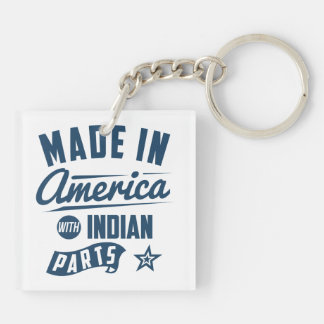 Made In America With Indian Parts Key Ring