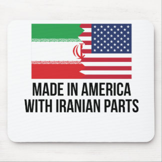 Made In America With Iranian Parts Mouse Pad