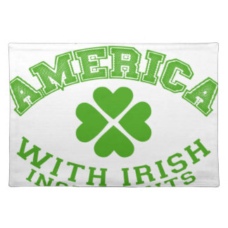Made in America with Irish ingredients Placemat