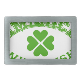 Made in America with Irish ingredients Rectangular Belt Buckles