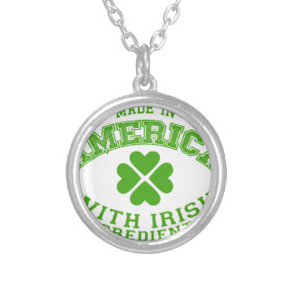 Made in America with Irish ingredients Silver Plated Necklace