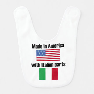 Made In America With Italian Parts Bib